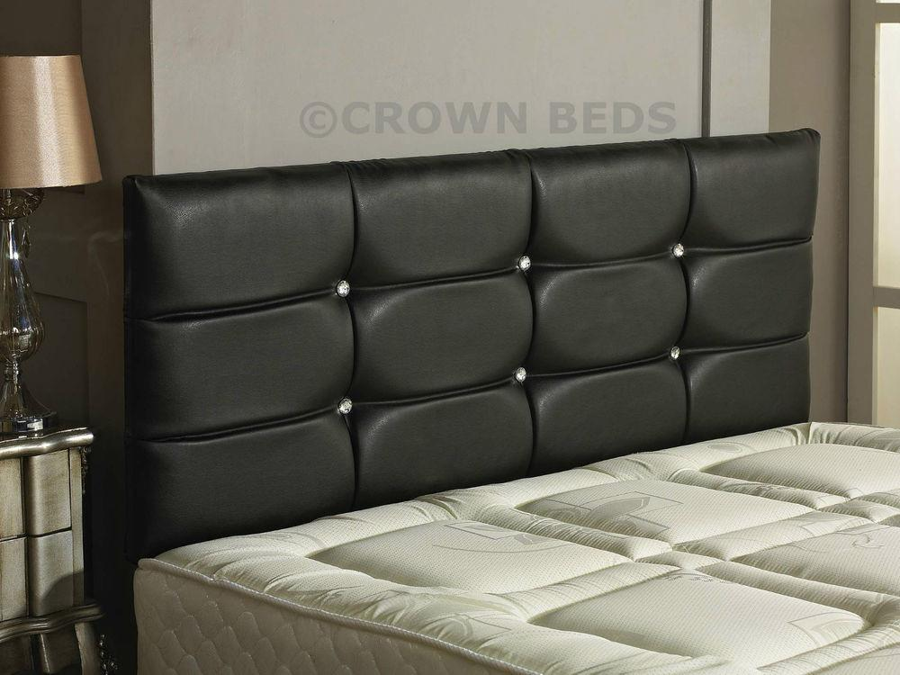 Quality Deluxe Faux Leather Headboard 2ft6 3ft 4ft 4ft6