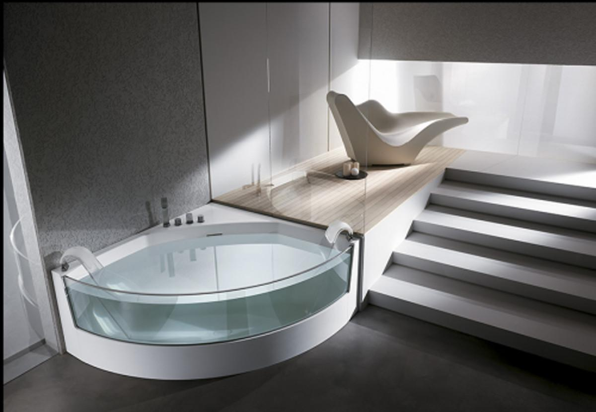 Quarter Glass Bathtub Jacuzzi Ideas Iroonie