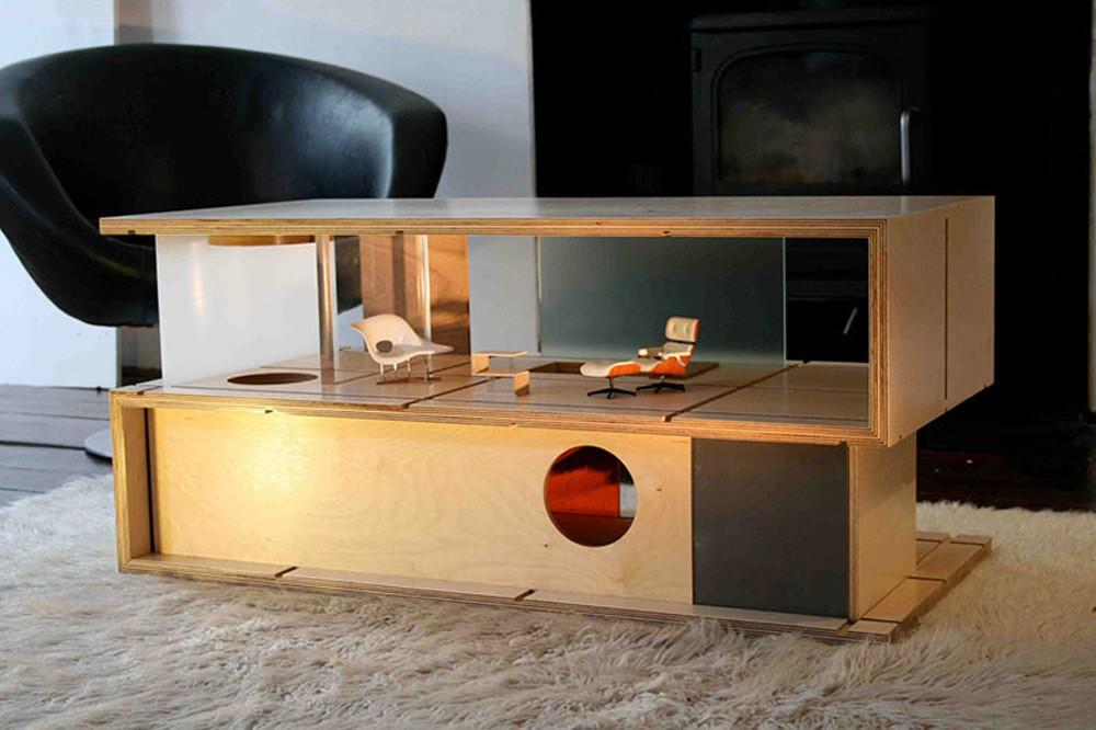 Qubis Modern Doll Houses Furniture One Amy