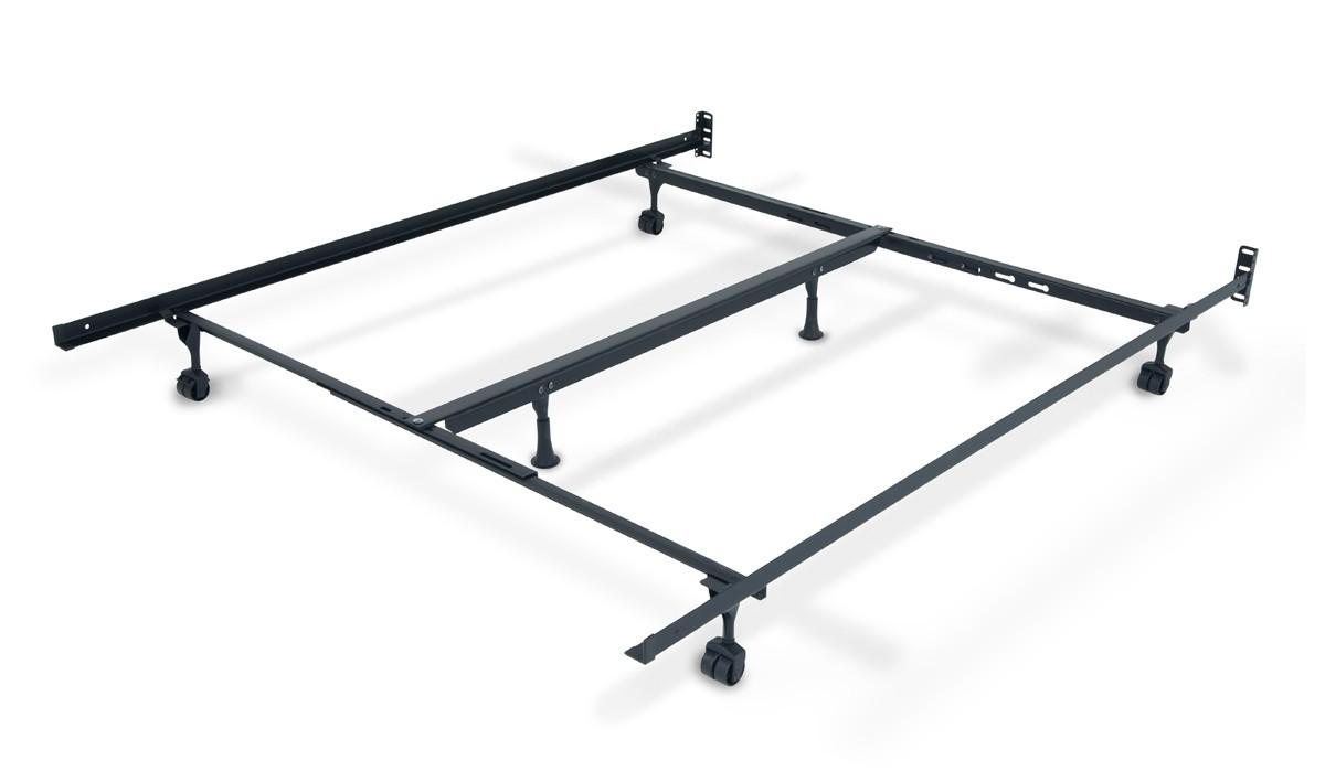 Queen King Bed Frame Casters Bob Discount Furniture