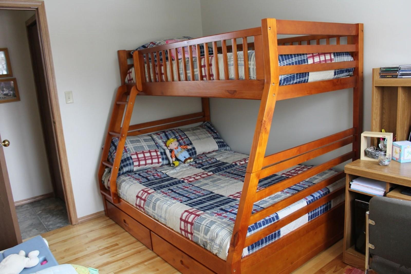 Queen Over Bunk Beds Simple Bed Plans New