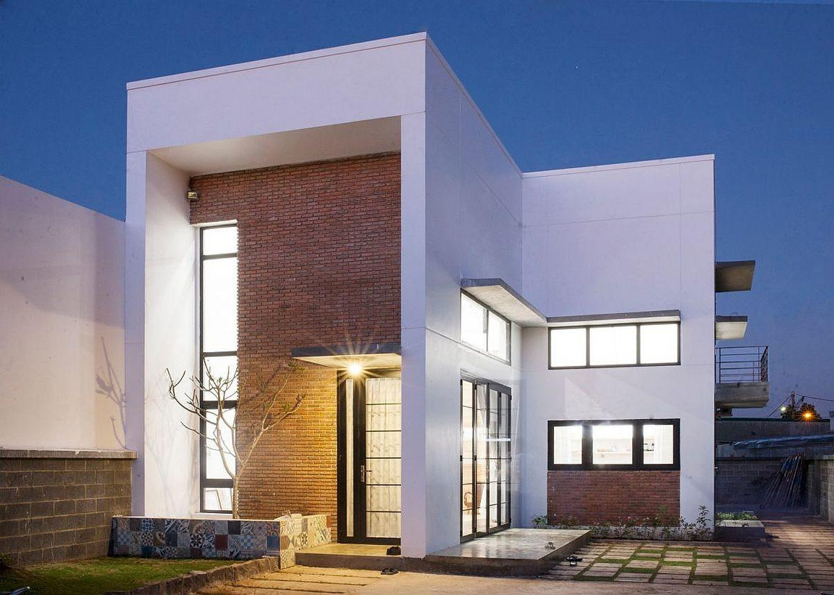 Quest Serenity Family Residence Brick Walls