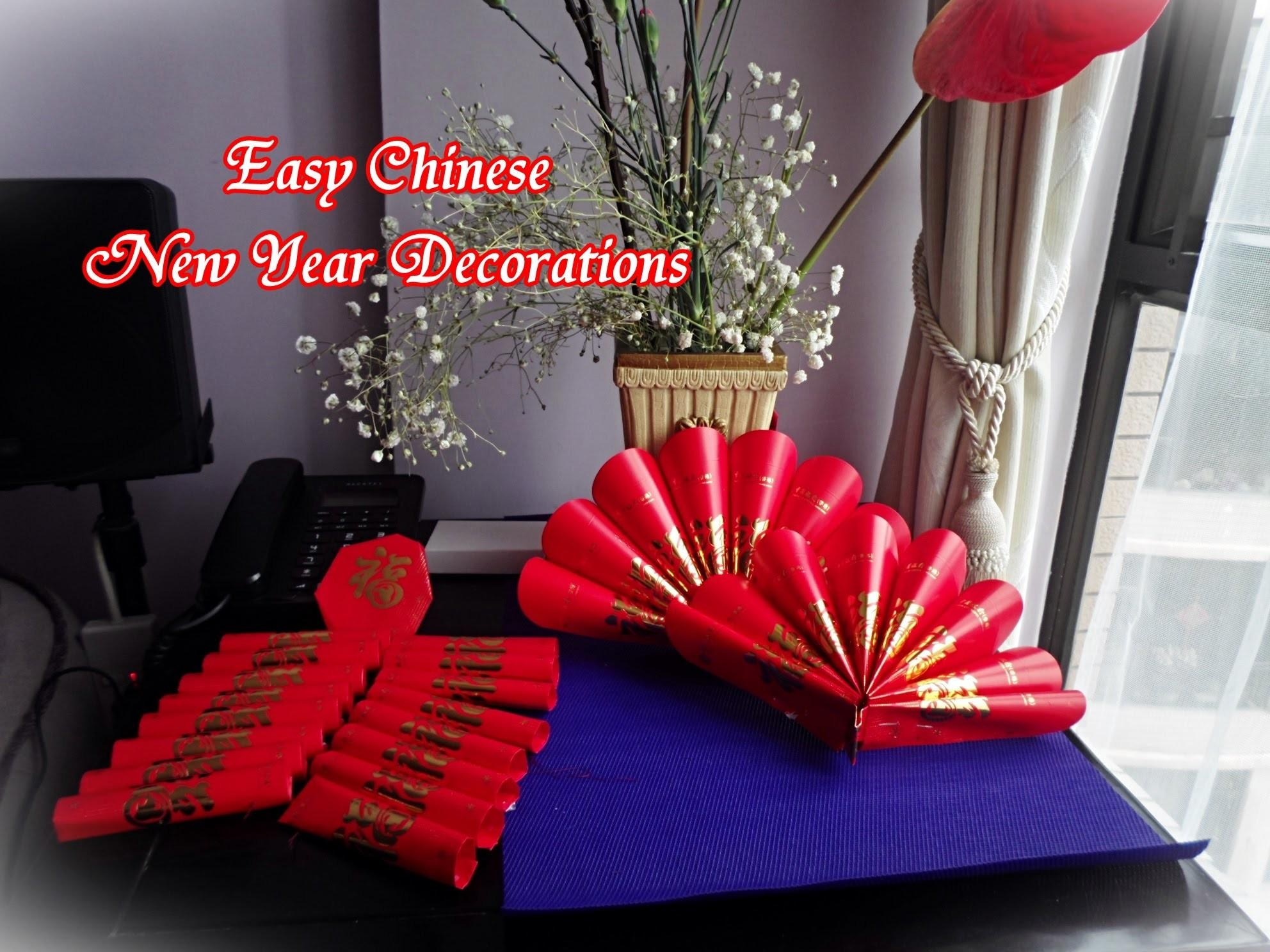 Quick Easy Chinese New Year Decoration