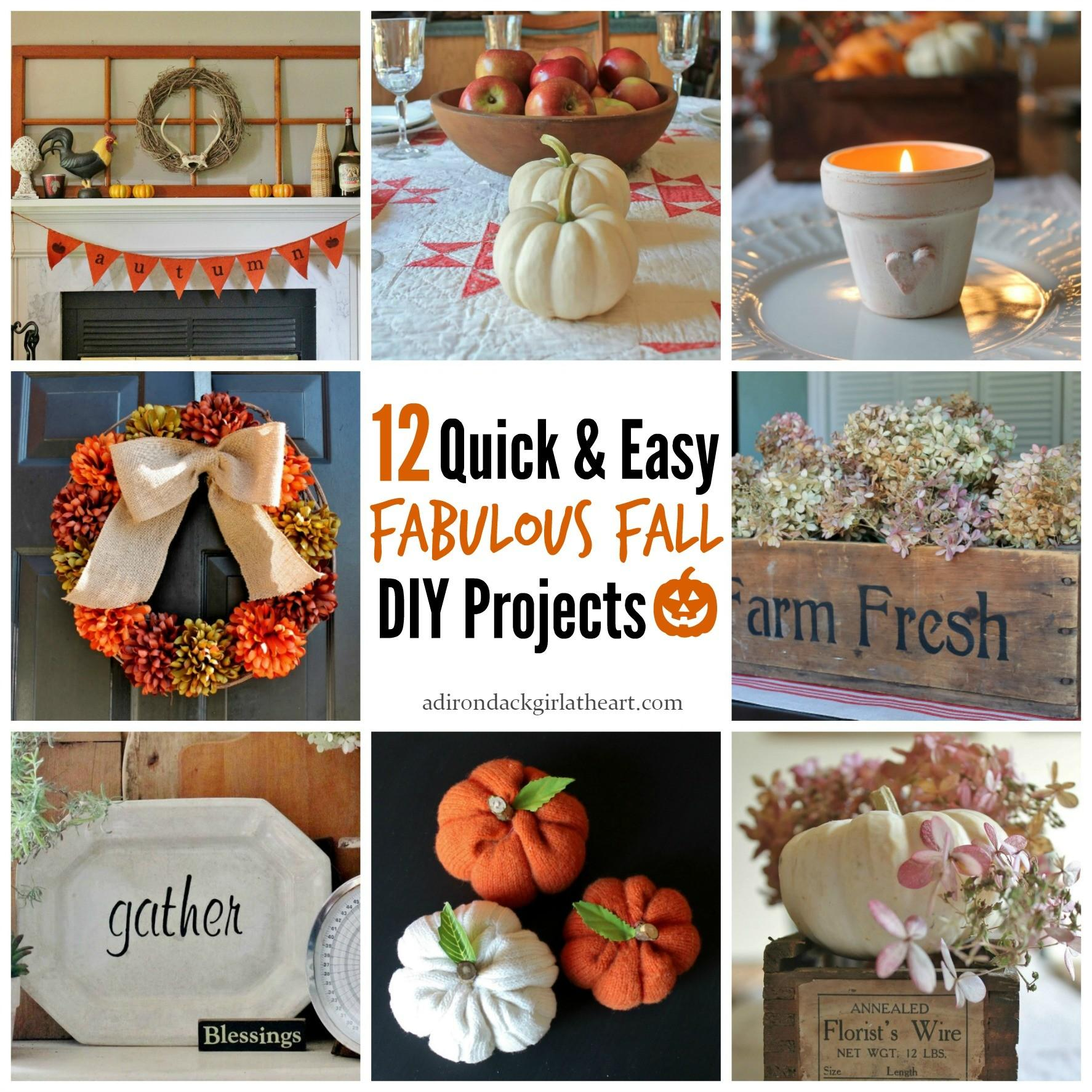 Quick Easy Fabulous Fall Diy Projects Adirondack