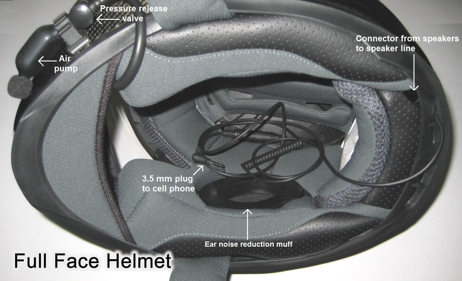 Quiet Ride Helmets Noise Reduction