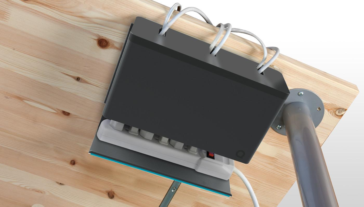 Quirky Plug Hub Power Cable Organizer Iwoot