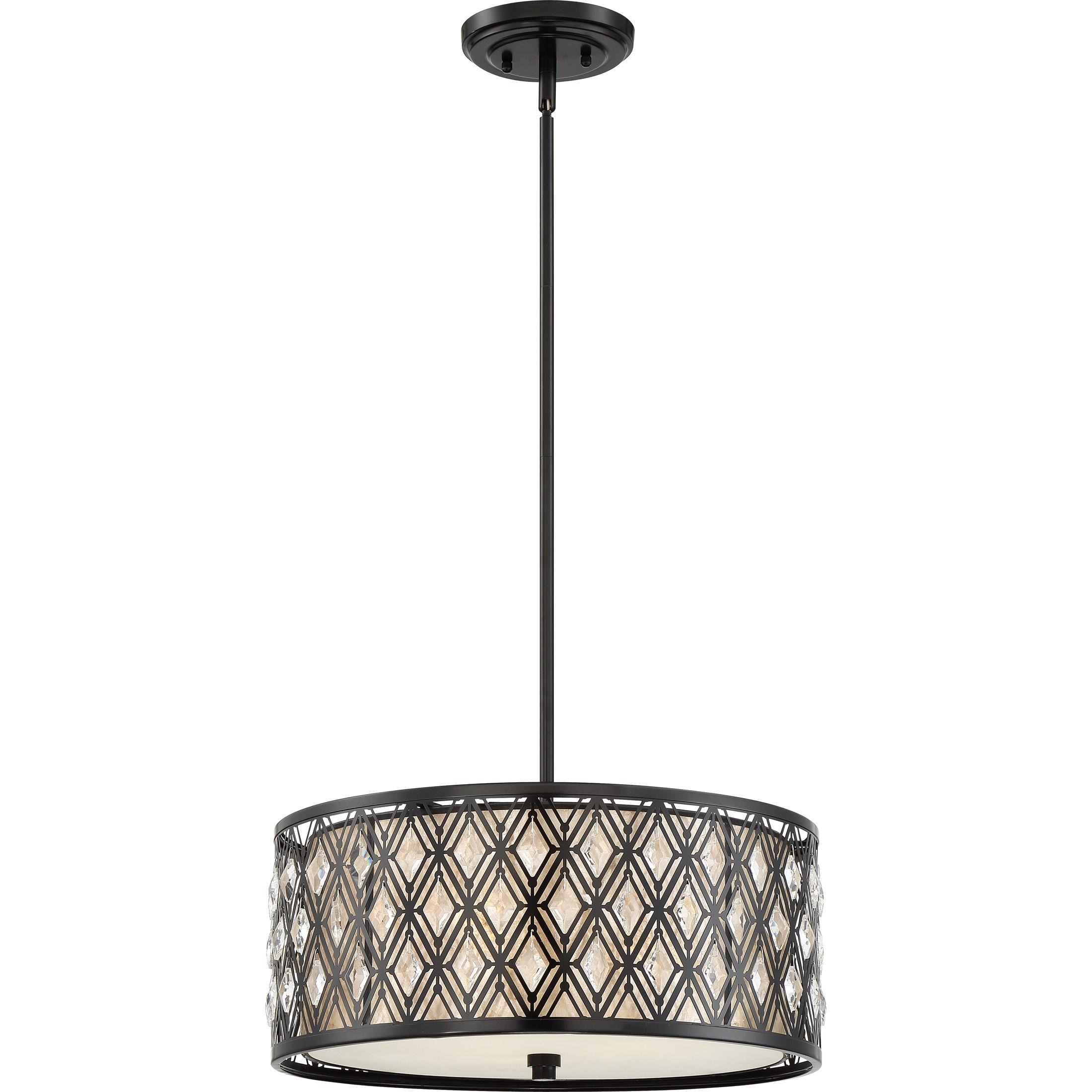 Quoizel Boutique Light Drum Pendant