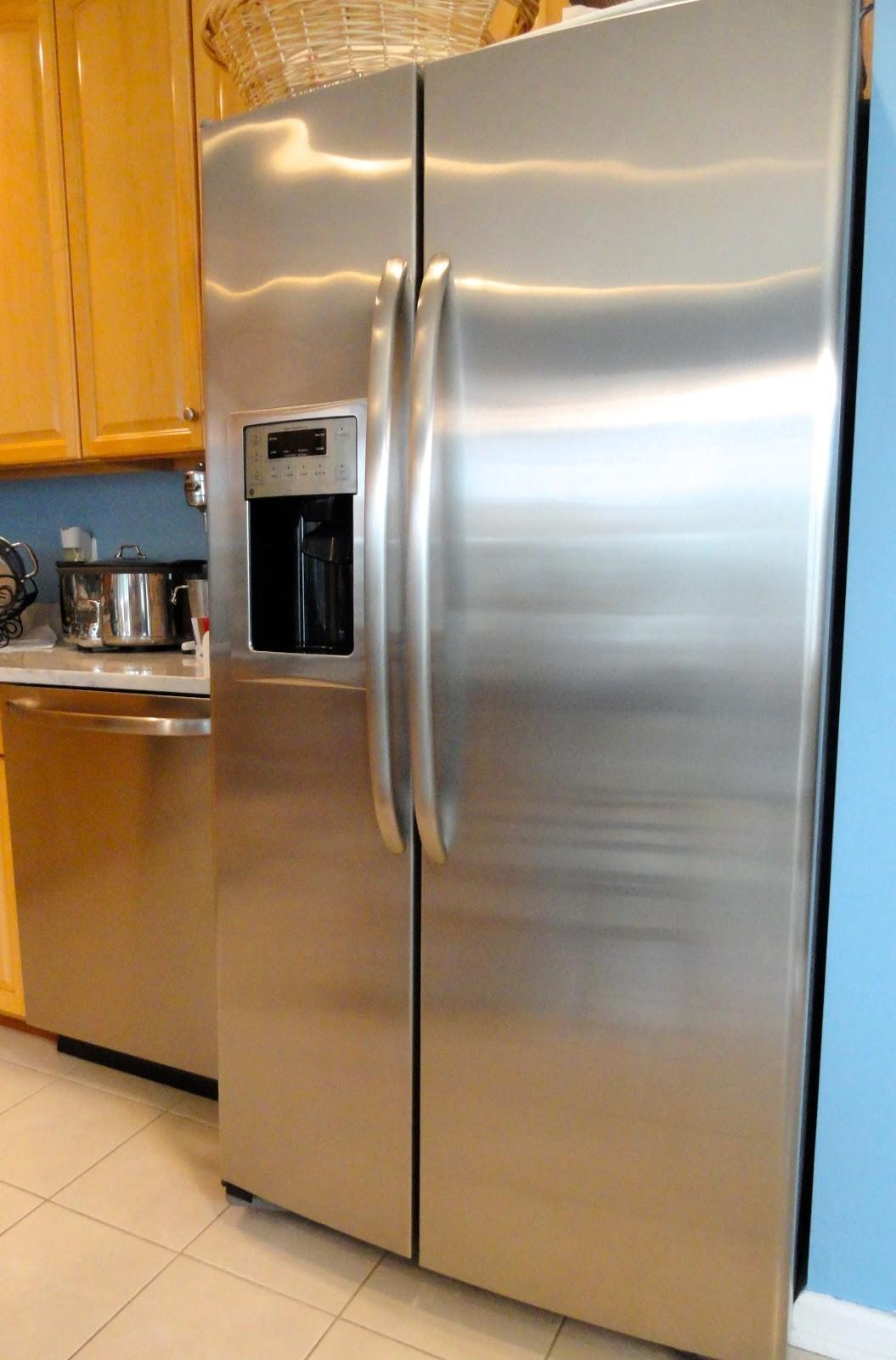 Rachel Nest Cleaning Stainless Steel Appliances Naturally