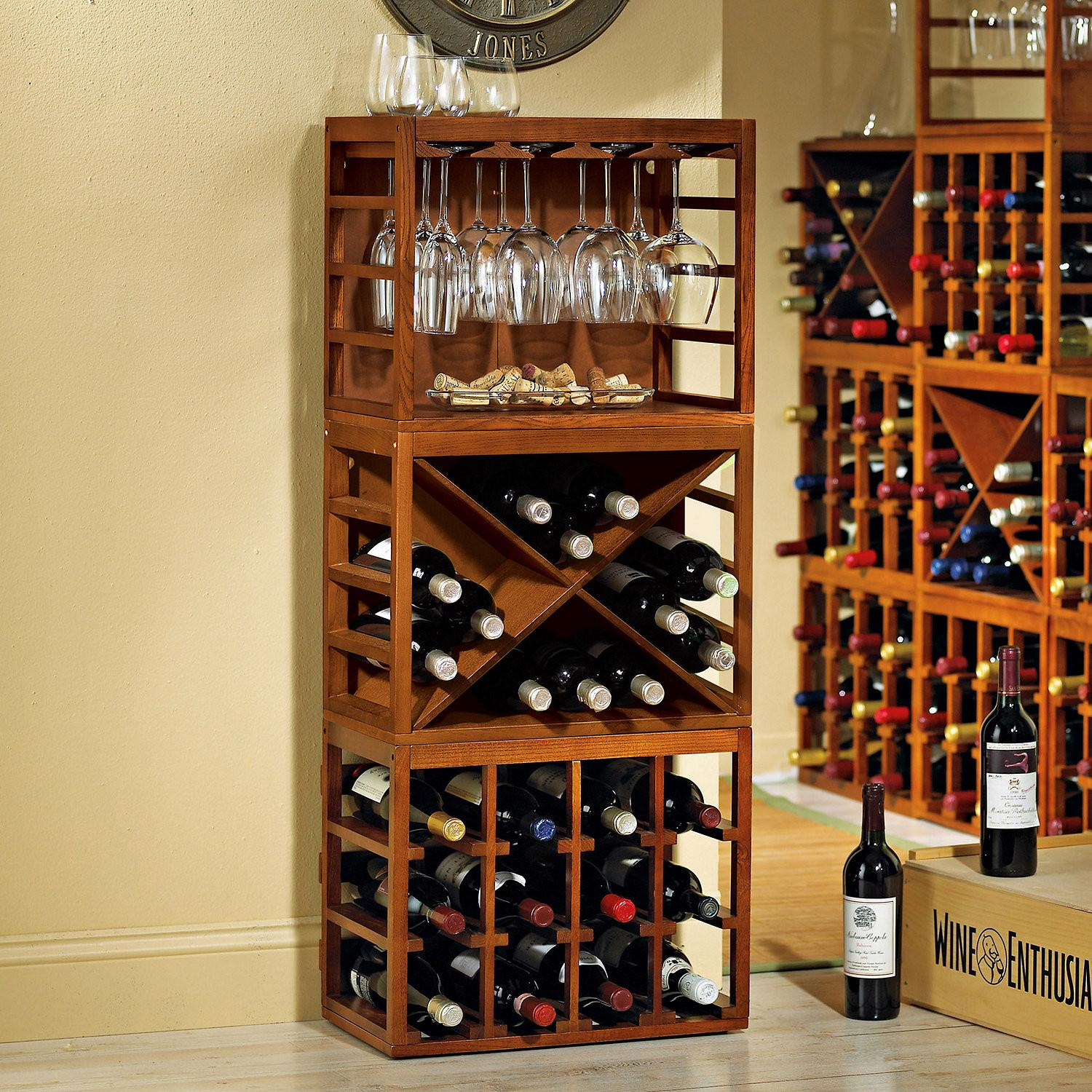 Rack Astonishing Wine Bottle Ideas Racks Wood