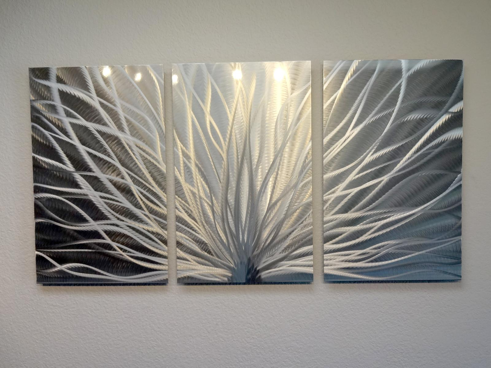 Radiance Panel Metal Wall Art Abstract Contemporary