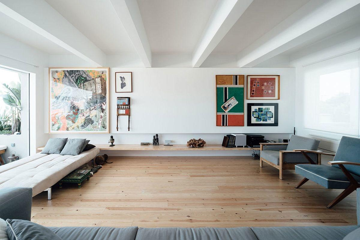 Radiant Makeover 1930 Lisbon Apartment Relies