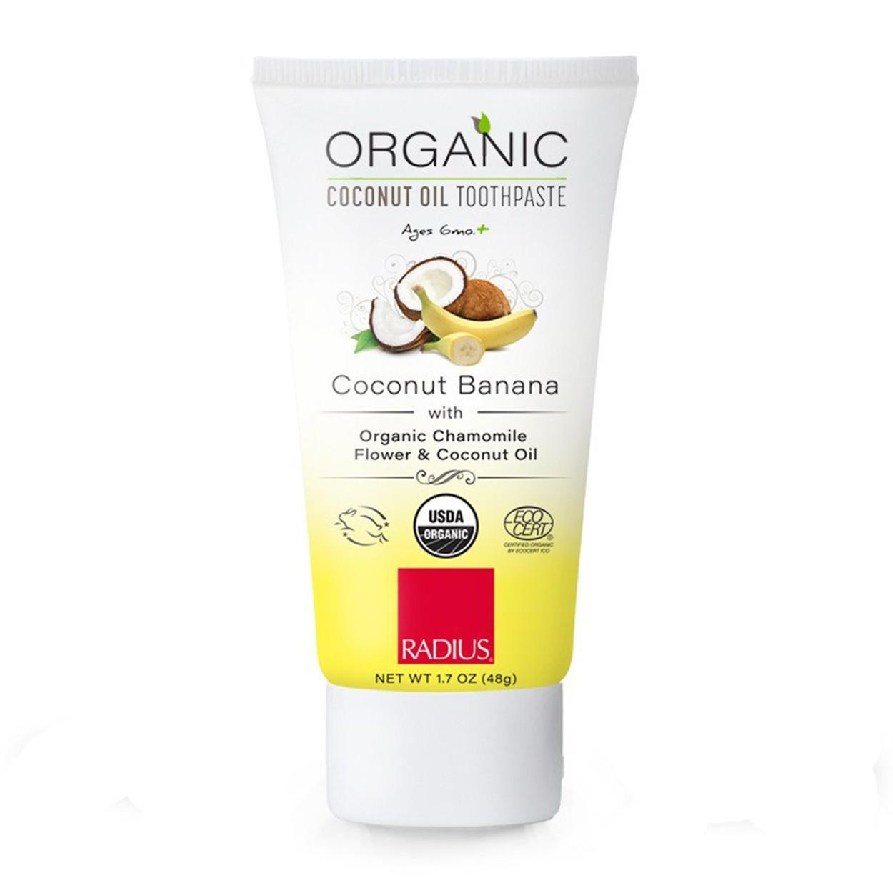 Radius Organic Children Coconut Oil Toothpaste
