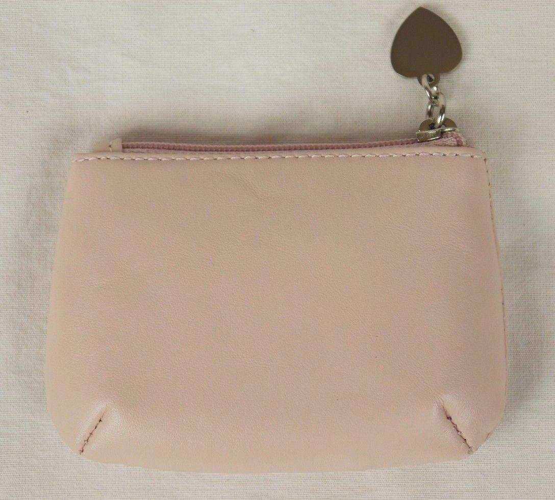 Radley Small Pale Pink Leather Coin Purse Heart