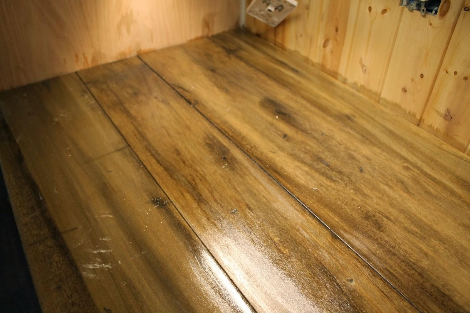 Ragged Wren Faux Reclaimed Wood Counter Tops
