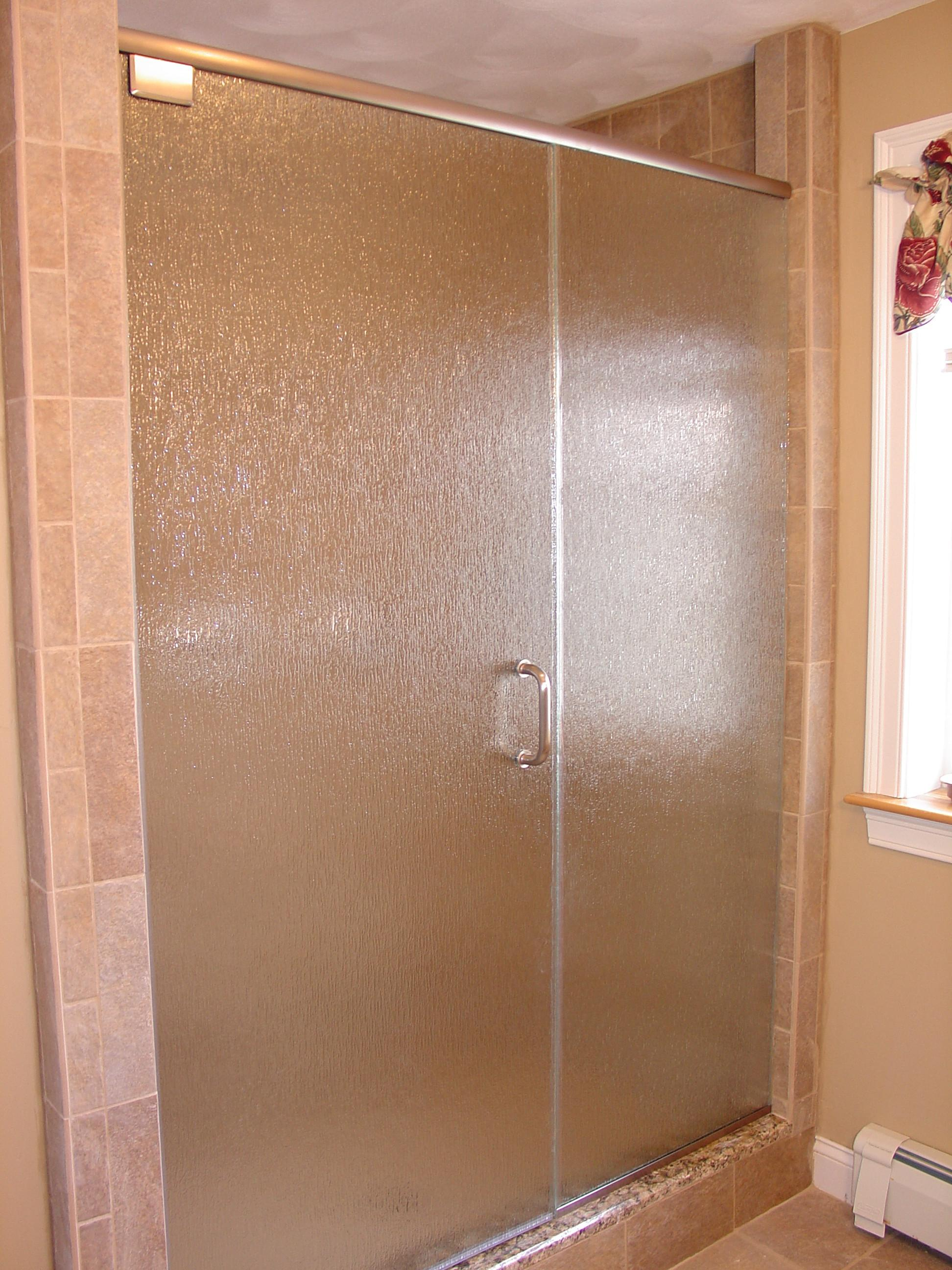Rain Glass Shower Door 4248