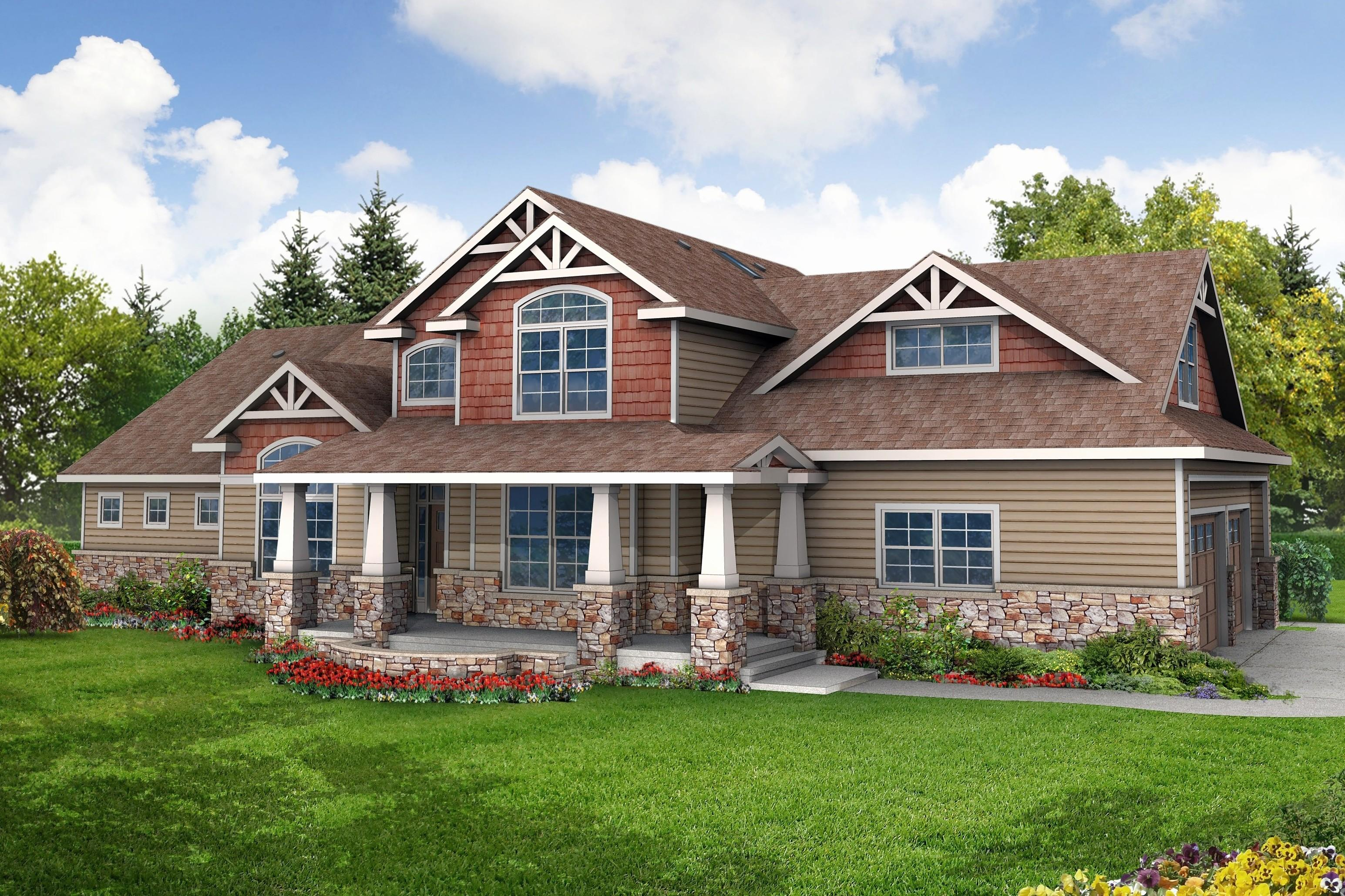 Ranch Craftsman House Plans Traintoball