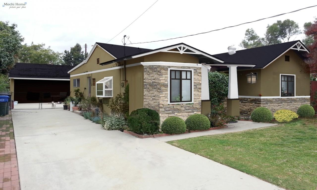 Ranch Style Stucco House Colors Exterior California