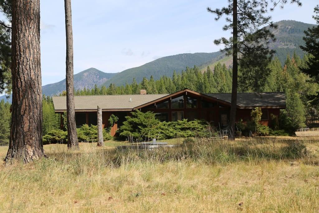 Ranch Vacation Home Near Missoula Houses Rent