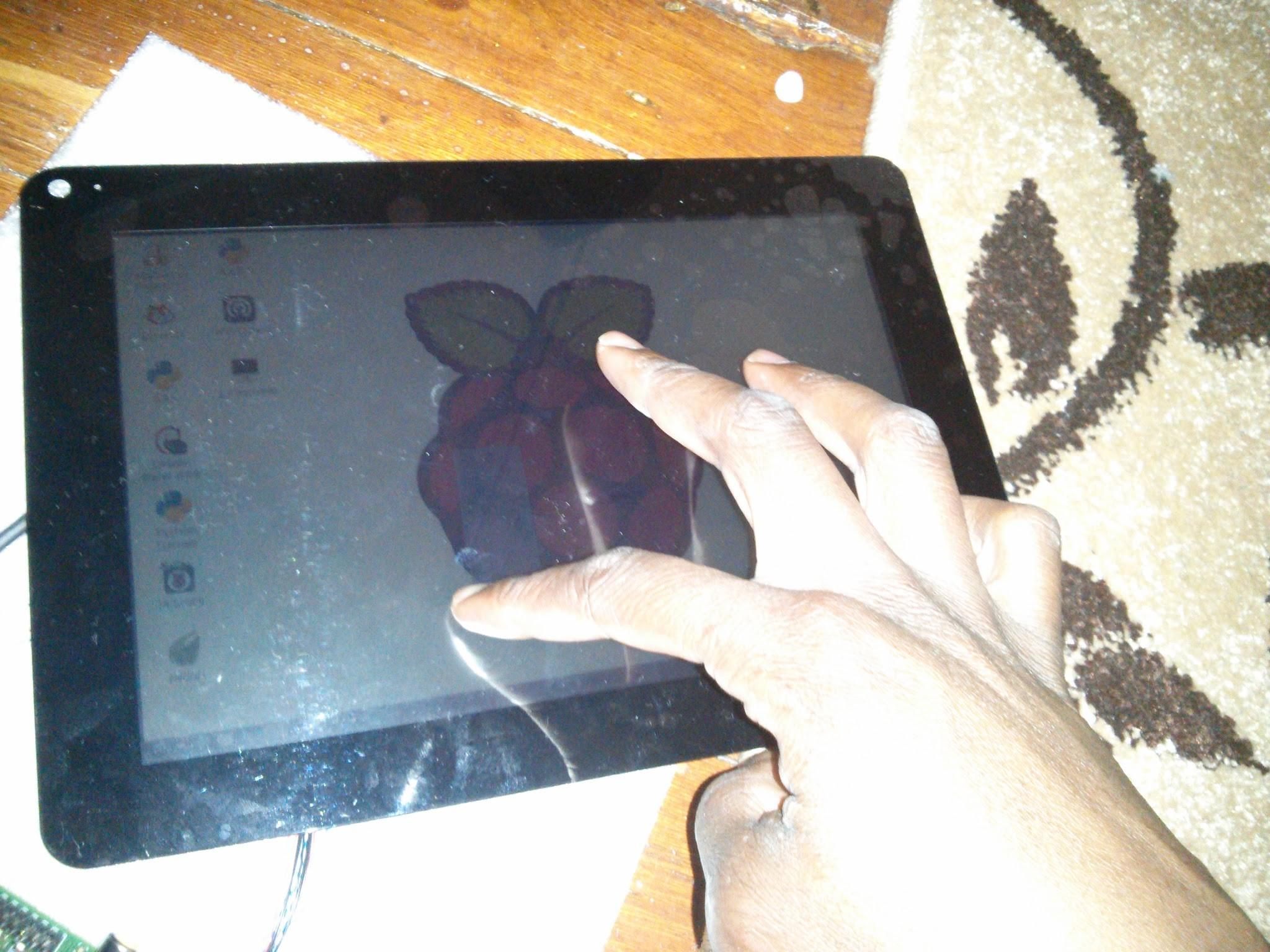 Raspberry Tablet Tutorial Andre Hitchman