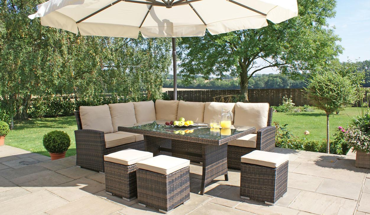 Rattan Garden Sofa Sets New Wicker Conservatory