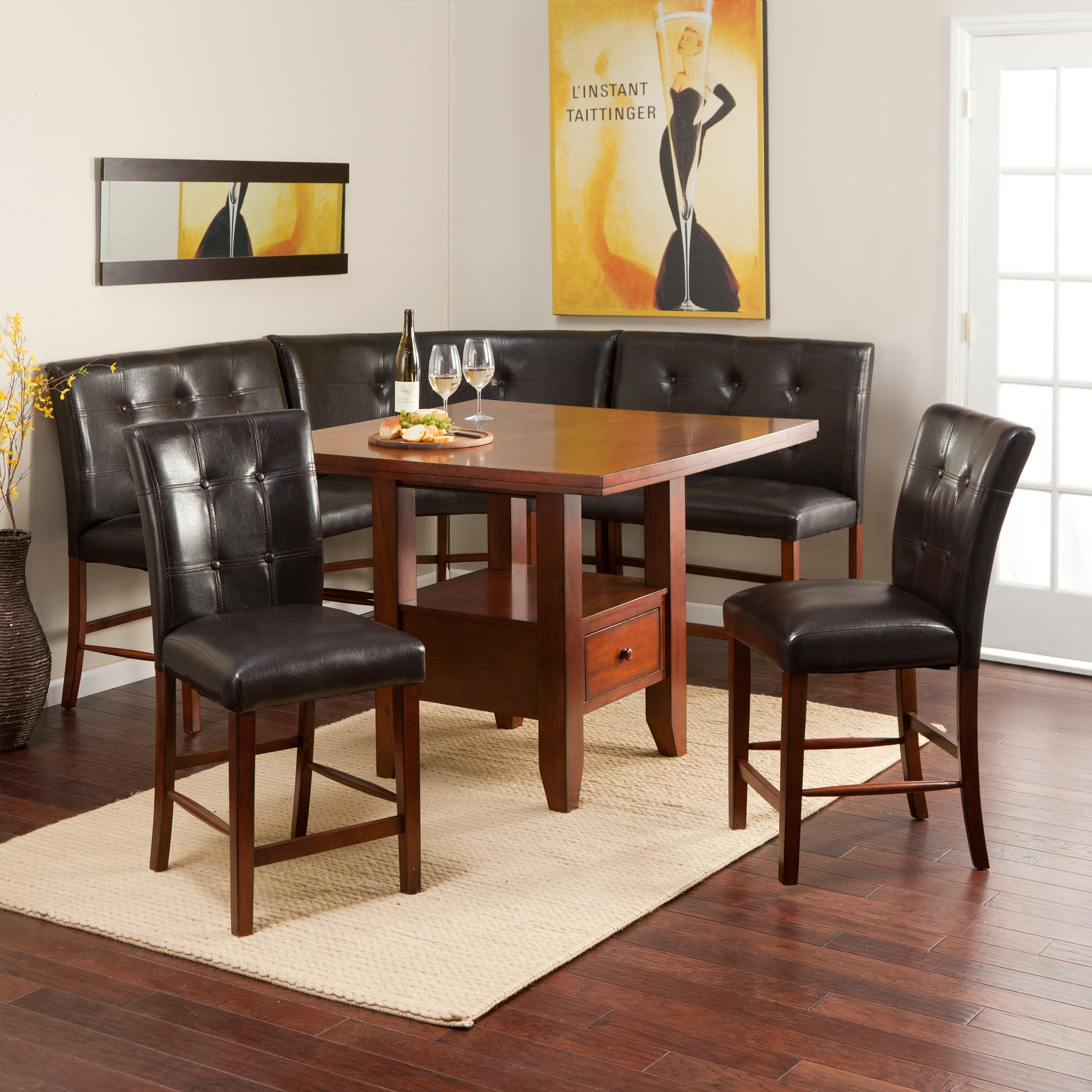 Ravella Counter Height Piece Nook Set Dining Table
