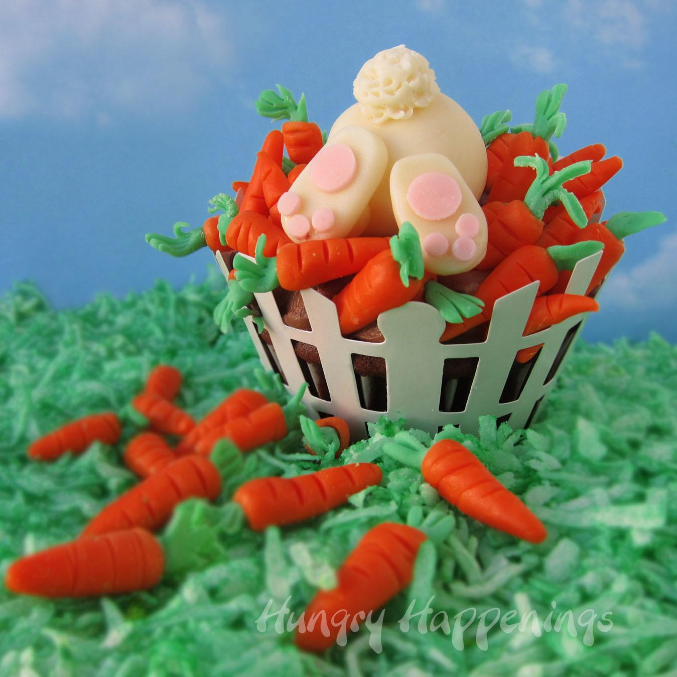 Ravenous Rabbit Cupcakes Hungry Happenings Easter Recipes