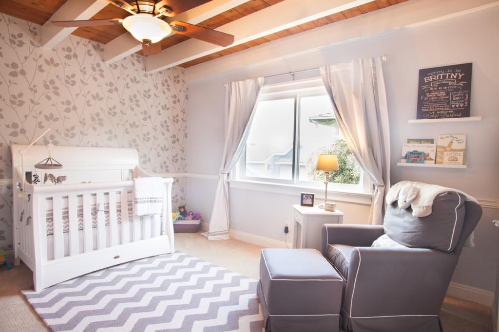Readers Favorite Modern Gray White Nursery Project