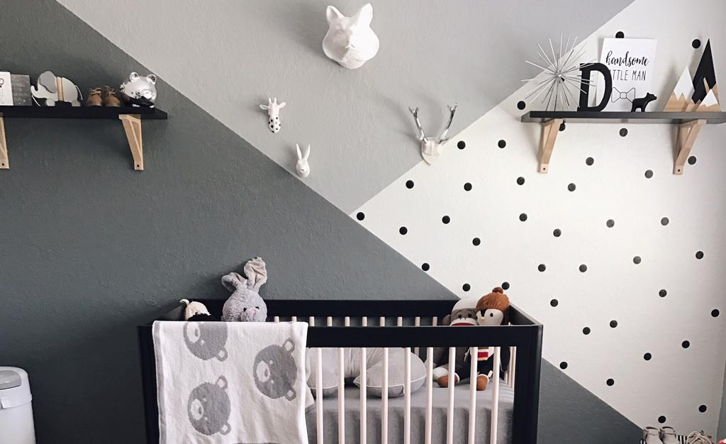 Readers Favorite Monochrome Zoo Nursery Project