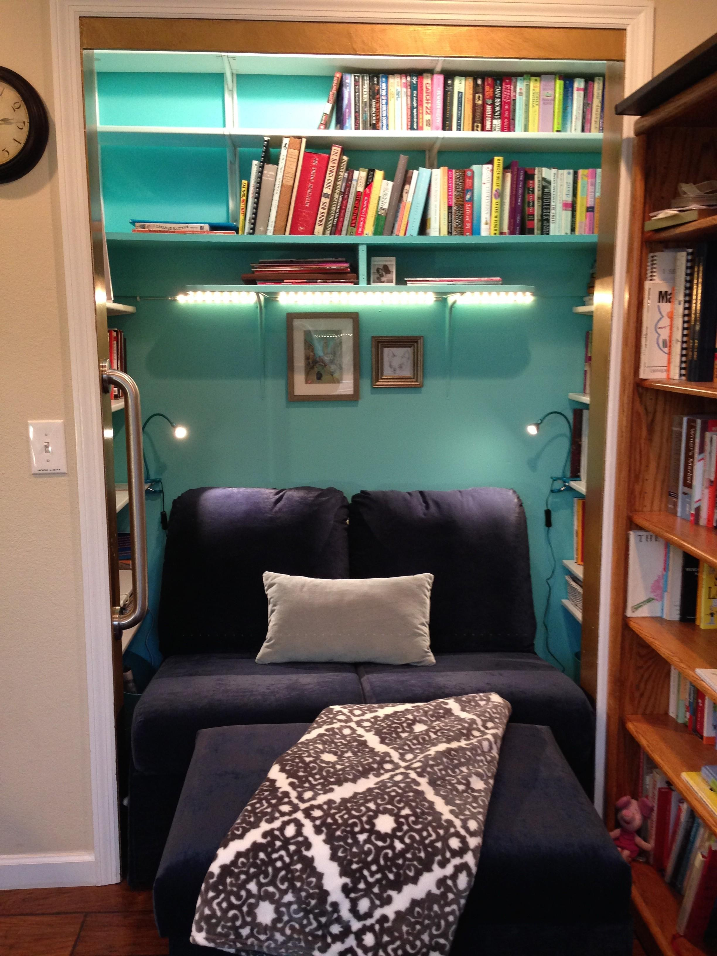 Reading Nook Closet Nosy Parker Blog
