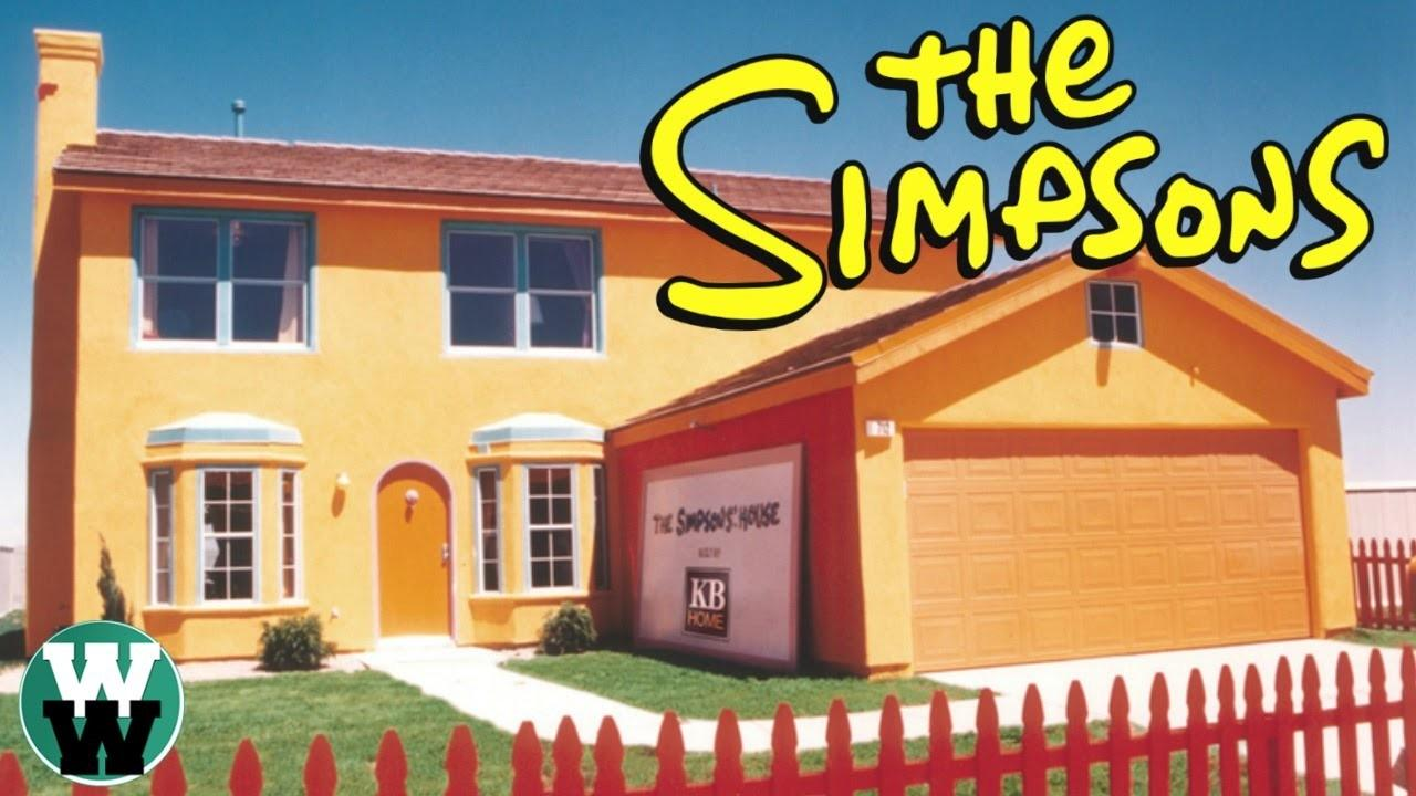 Real Houses Inspired Cartoons