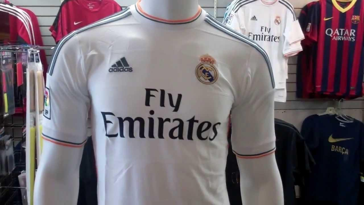 Real Madrid 2013 2014 Home Jersey