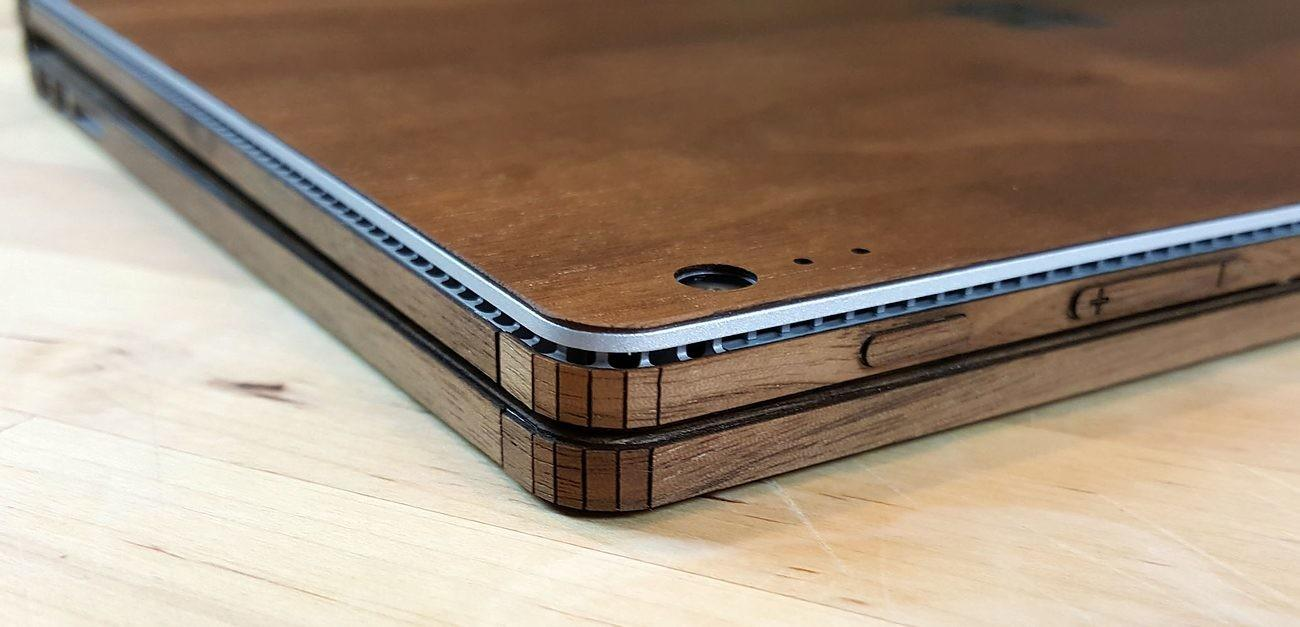 Real Wood Cover Surface Book Toast Gadget Flow