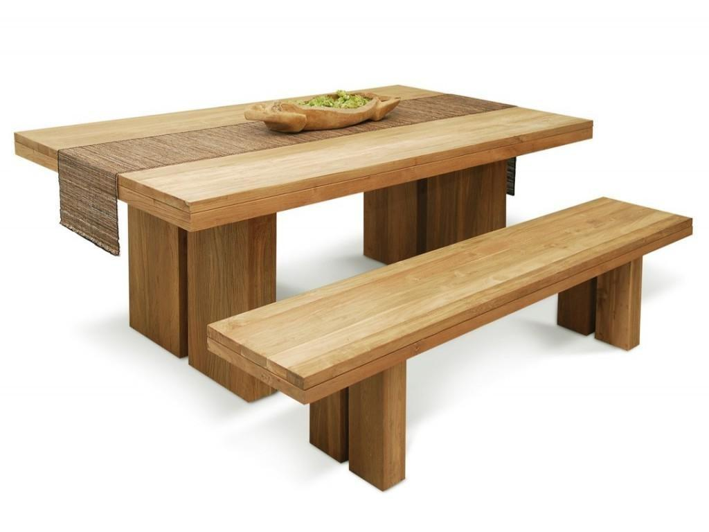 Real Wood Dining Table Homesfeed