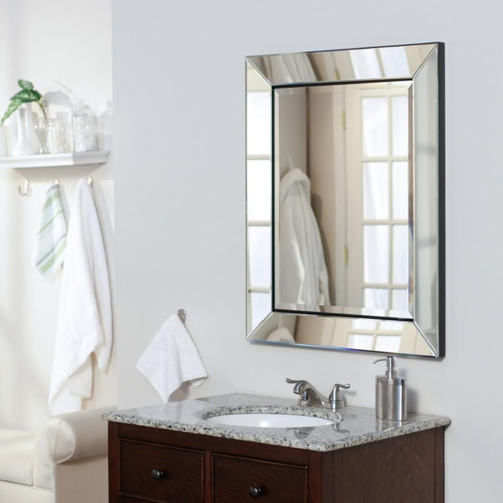 Really Stylish Recessed Mirrored Medicine Cabinet All