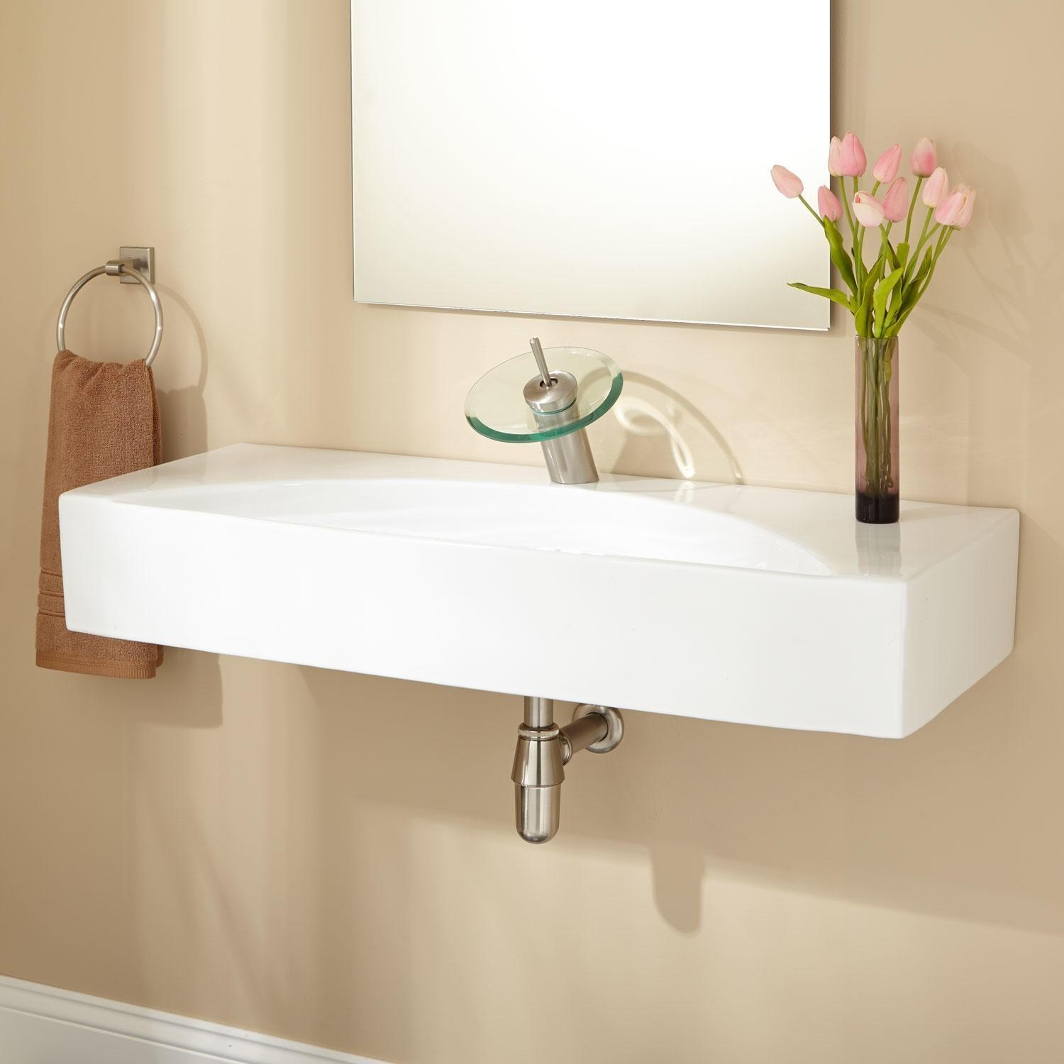 Reasons Buy Wall Mounted Bathroom Sinks Ward Log Homes