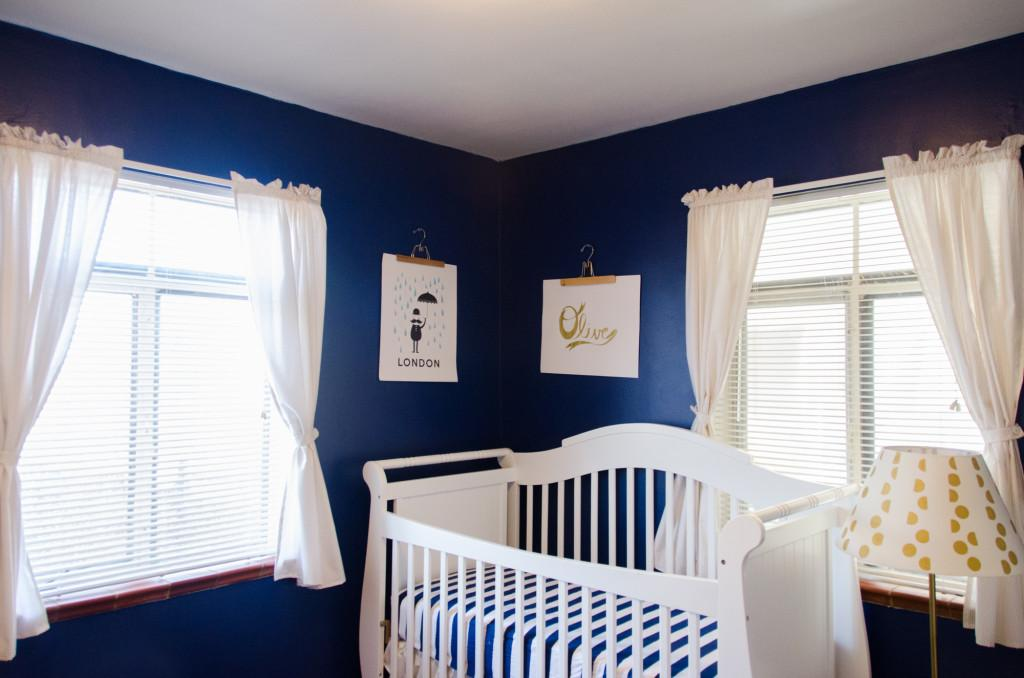 Reasons Paint Your Nursery Blue Project