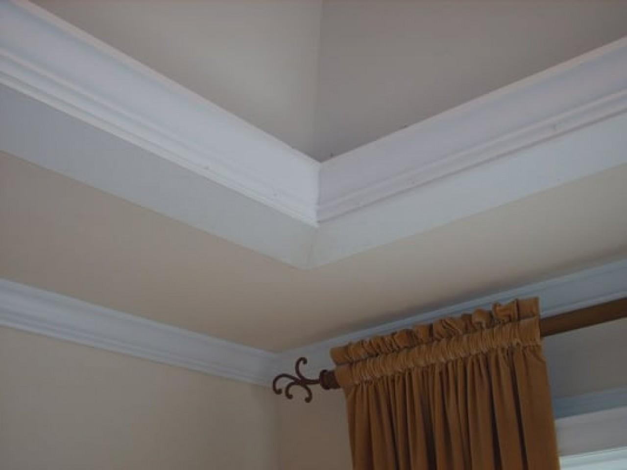 Recessed Ceiling Crown Molding Moulding Tray