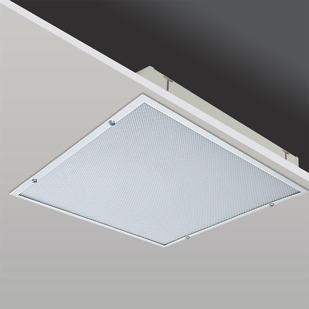 Recessed Mounted Clean Room Fixtures Prismatic