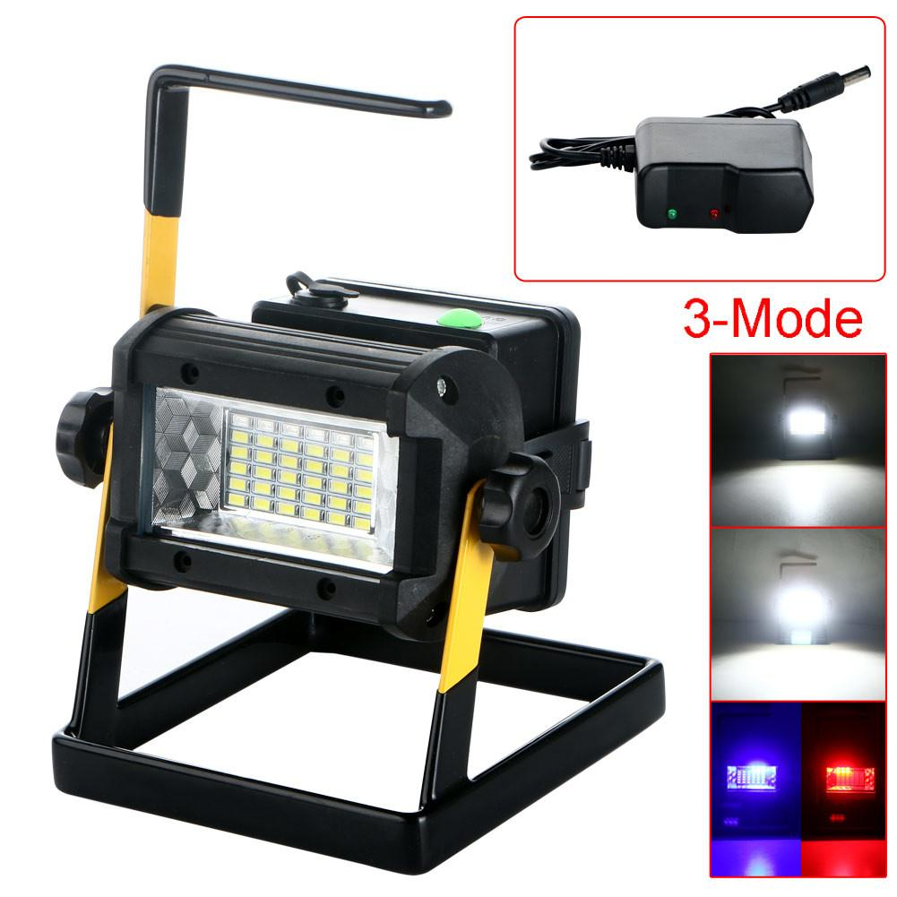 Rechargeable 50w 36led Portable Led Flood Spot Work Light