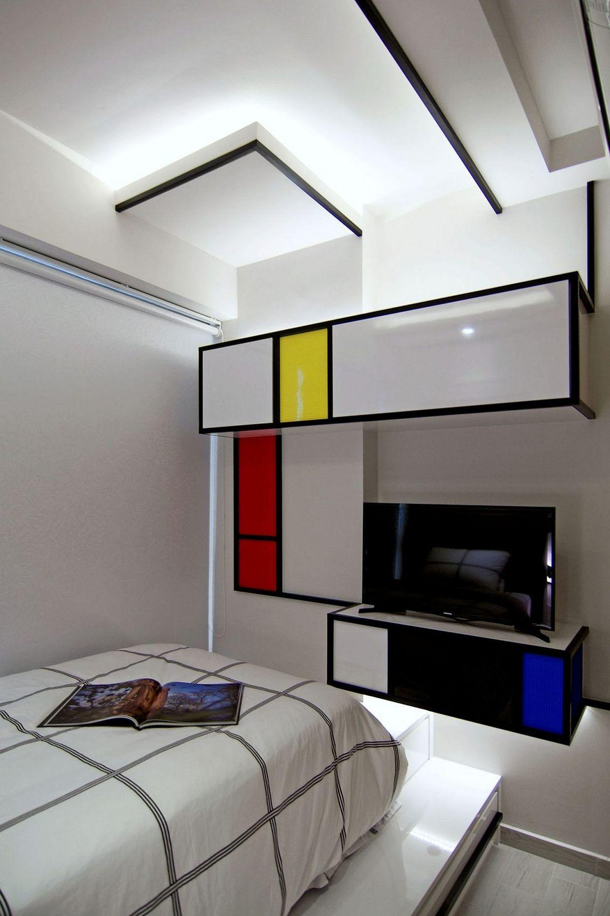 Recharged Singapore House Inspired Simply Piet Mondrian