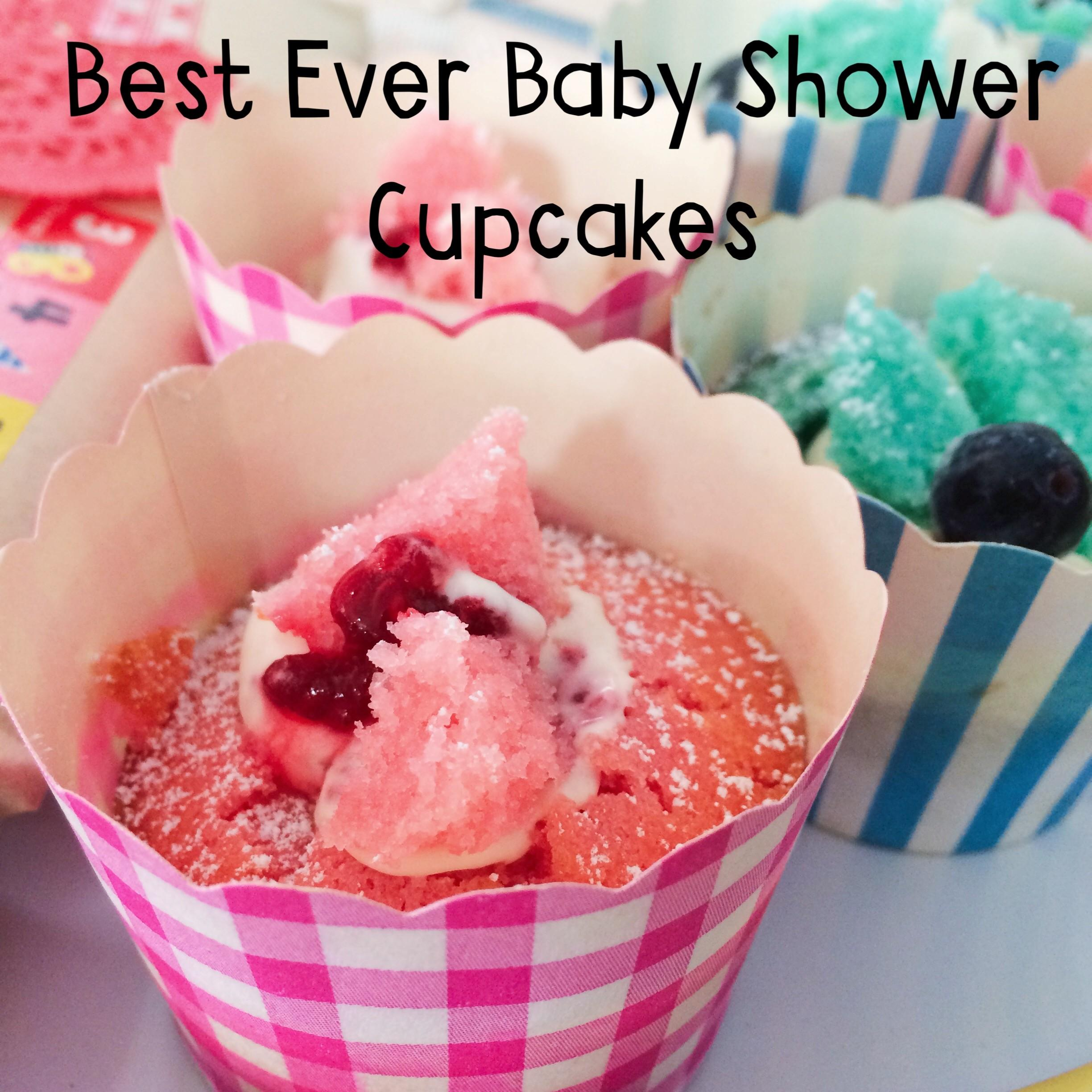 Recipe Best Ever Baby Shower Cupcakes Creative Day
