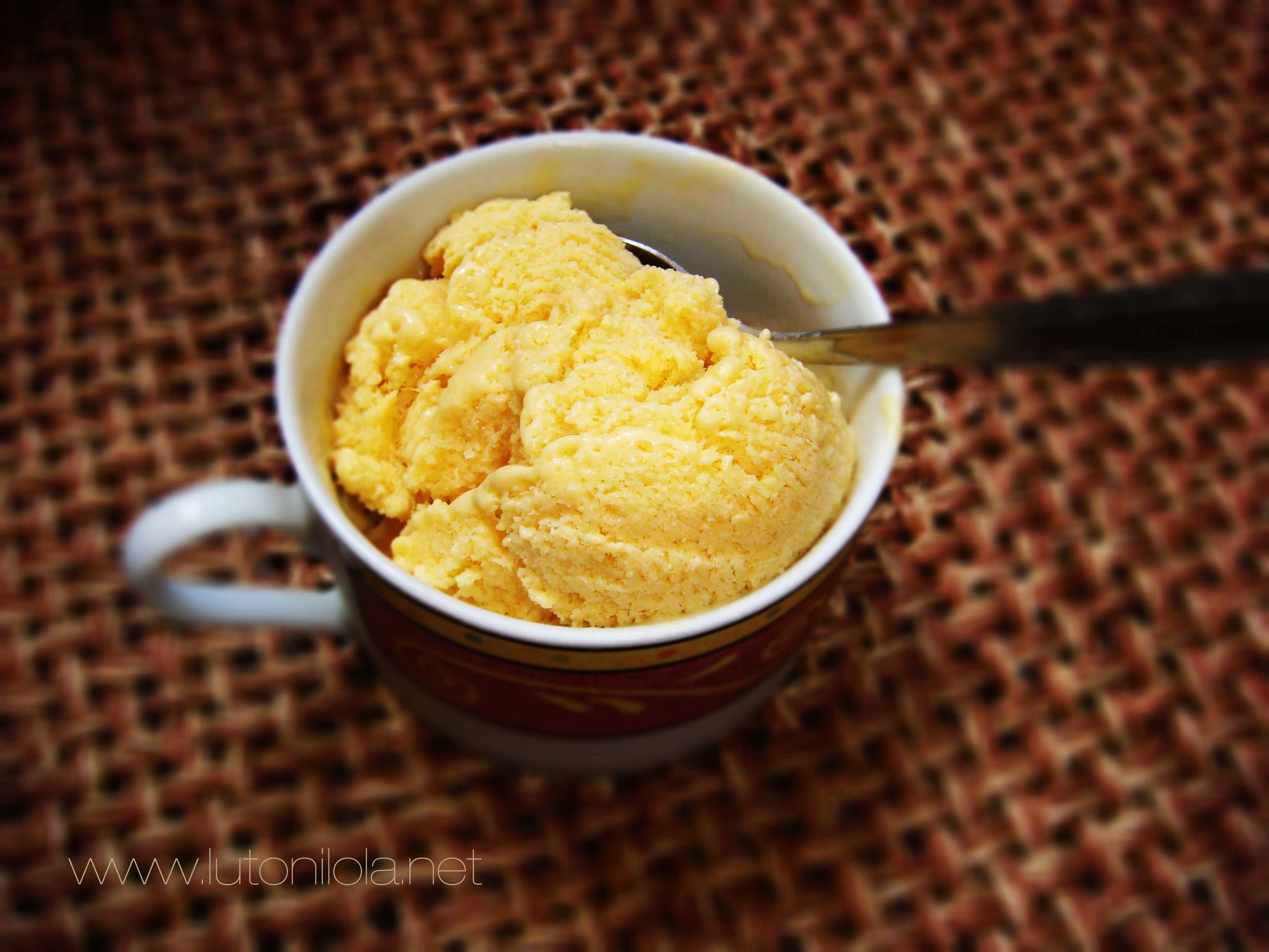 Recipe Homemade Mango Ice Cream Luto Lola