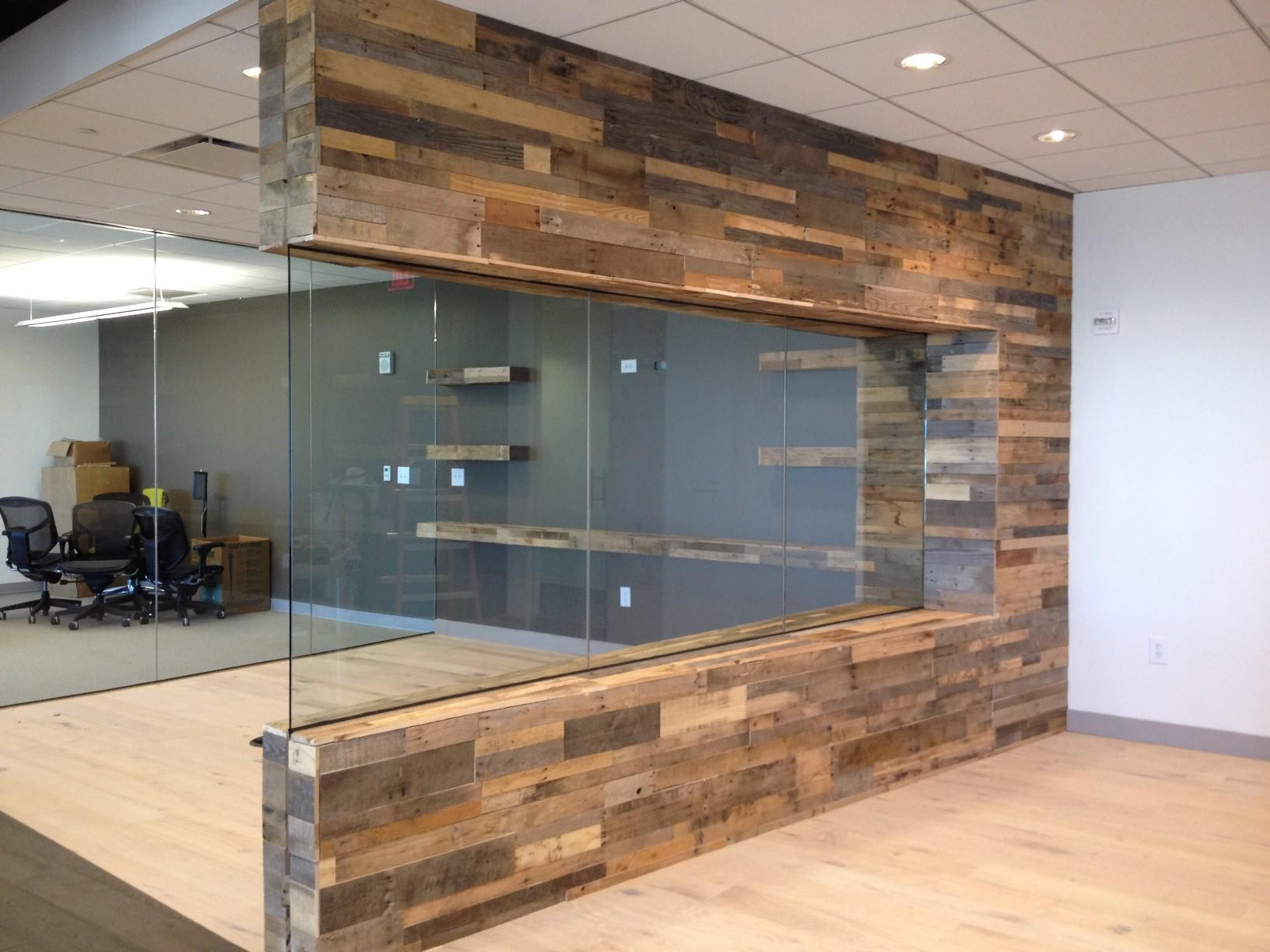 Reclaimed Pallet Wood Paneling Sustainable Lumber Company