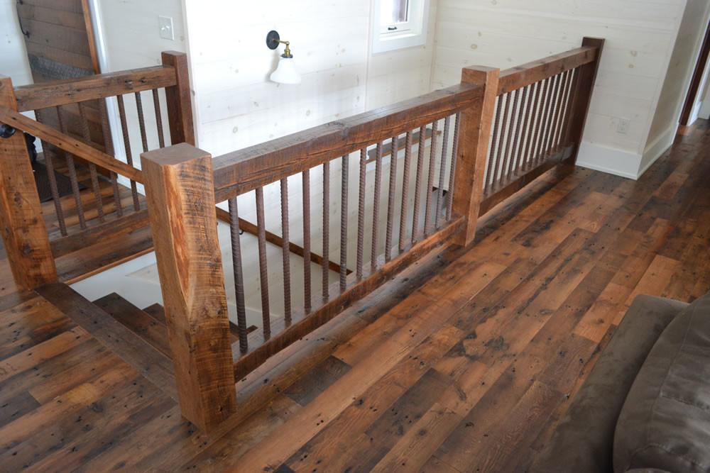 Reclaimed Timber Stair Railings Enterprise Wood Products