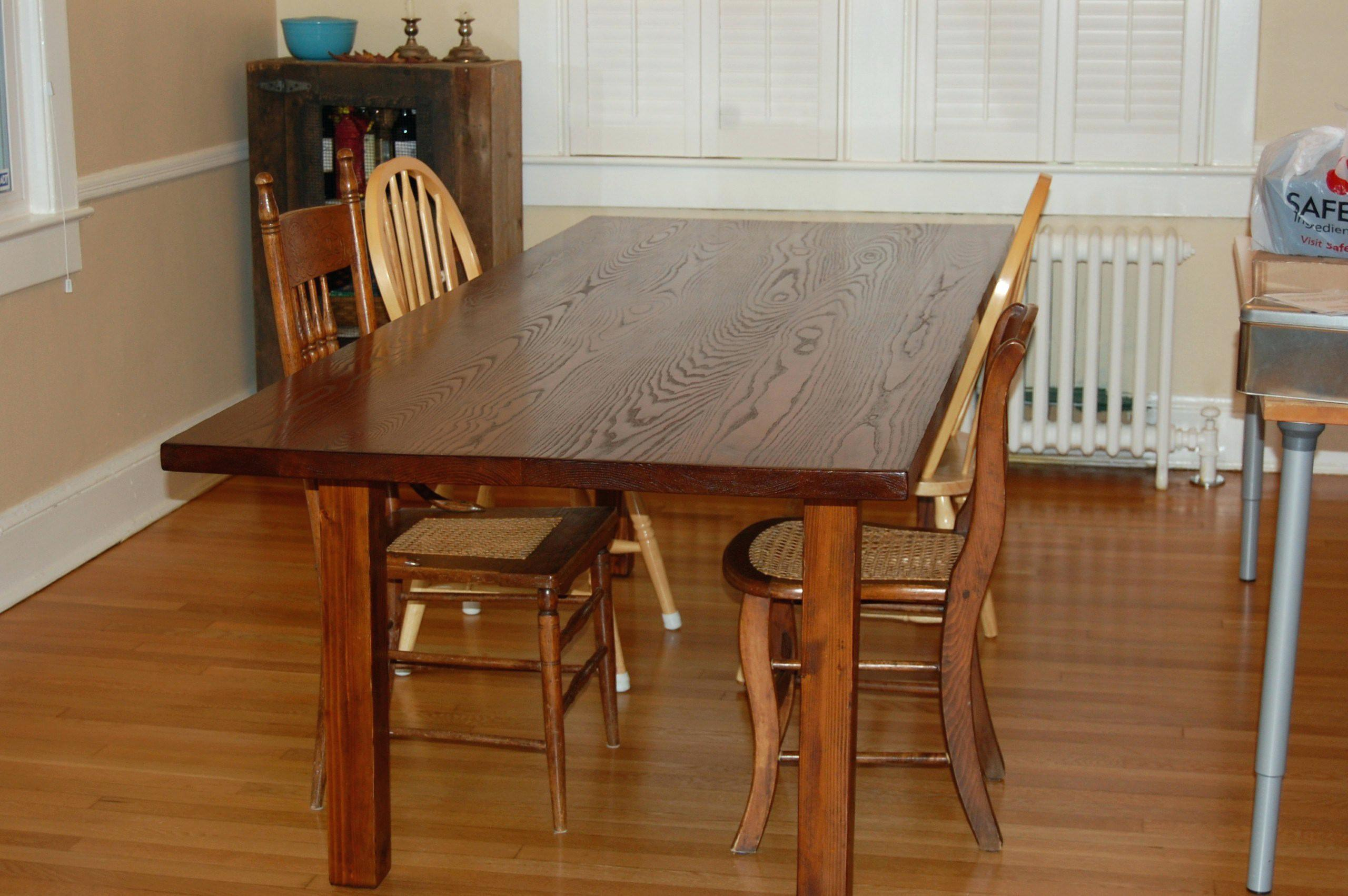 Reclaimed Wood Dining Room Farmhouse Rustic Table