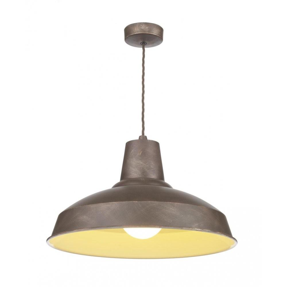 Reclamation Vintage Style Ceiling Pendant Light Weathered