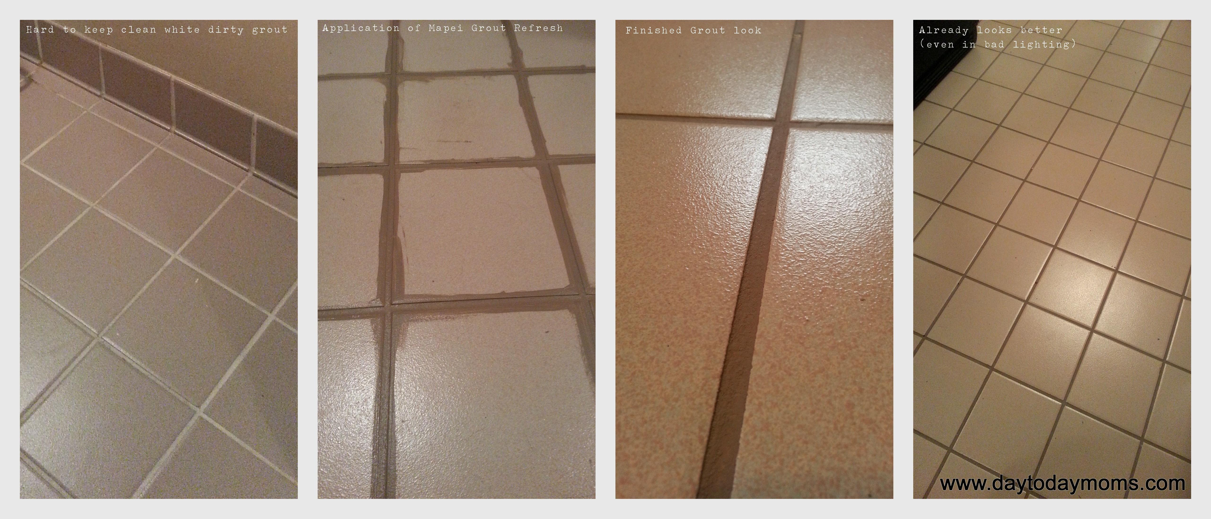 Recoloring Grout Made Easy Day Moms