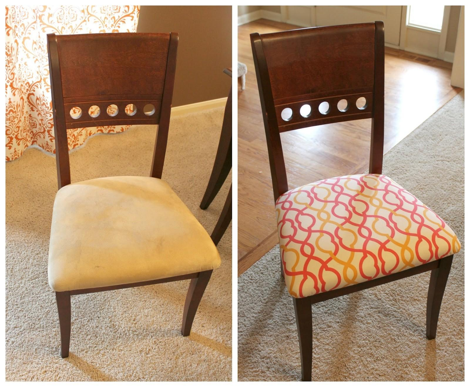 Recover Dining Room Chairs Large Beautiful