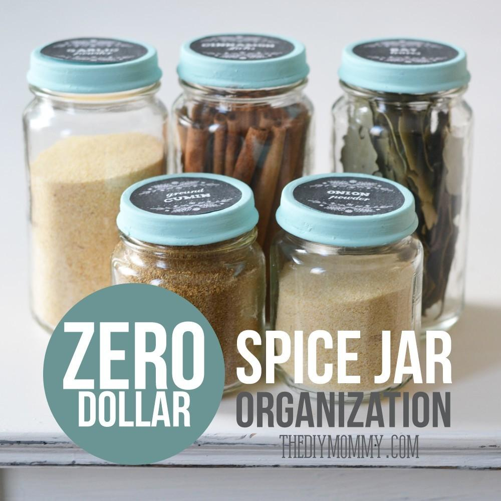 Recycle Baby Food Jars Spices Spice Storage