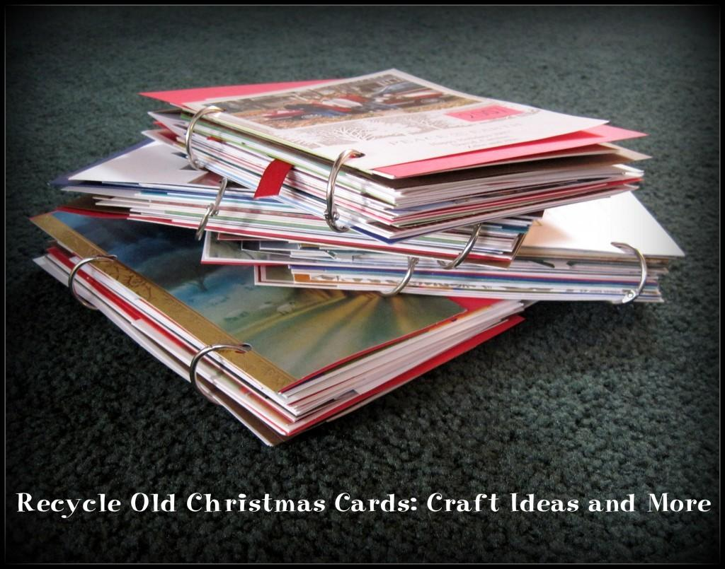 Recycle Old Christmas Cards Craft Ideas More Hubpages